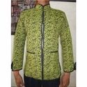 Full Sleeve Vinayak Handicraft Cotton Printed Quilted Jackets