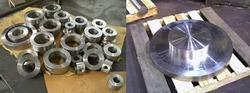 Stainless Steel Circle Blanks Ring