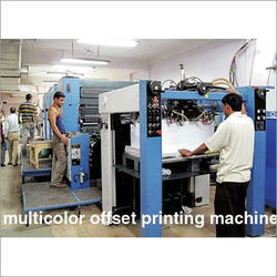 Multy Colour Offset Printing