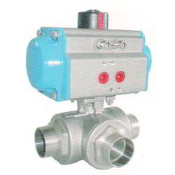 High Pressure Pneumatic Actuator Ball Valve