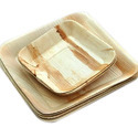 Square Palm Leaf Plates