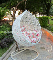 Cane Swing Metal Outdoor Swing With Stand Manufacturer