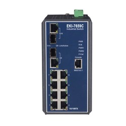 Managed Redundant Industrial Ethernet Switch
