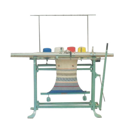 Manual For Knitting Purpose Hand Flat Knitting Machine Rs 40000
