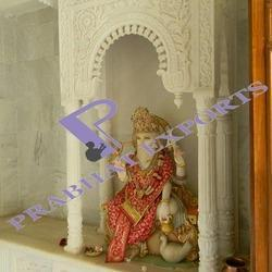 Marble Temple with Lord Bramha