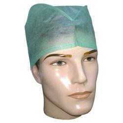 Non Woven Tie On Surgeon Cap, For Hospital, Quantity Per Pack: 50 Caps