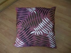 Leaves Printed Cushion Cover