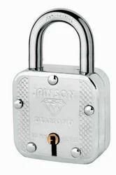 Jainson Combination Diamond Padlock, Padlock Size: 50 mm, Packaging Size: > 100 Pieces