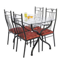 Designer Wrought Iron Dinning Set