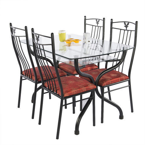 Wrought Iron Dinning Set (DT-16B)  sc 1 st  IndiaMART : wrought iron dining table set - Pezcame.Com