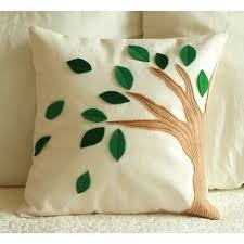Embroidered Pillow Covers Cushion Cushion Covers Geeta Overseas