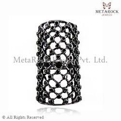 Micro Pave Diamond Designer Knuckle Rings