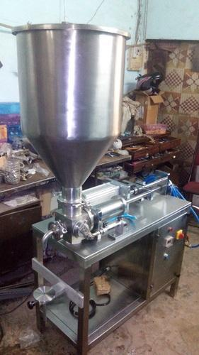 Amson Engineering Chyawanprash Filling Machine