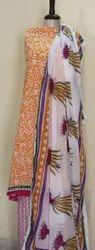 Pure Cotton Dupatta Suit Set