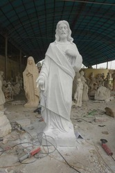 Marble Jesus Sculpture