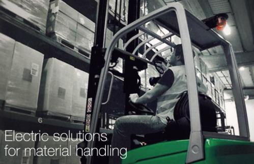 Electric Power Trains (Material Handling Trucks 600F)