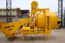 Mini Mobile Batching Plant 3 Bin 750 Rm