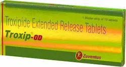 Troxip OD ( Troxipide), Non prescription, Packaging Size: Strip Of 10 Tablet