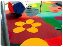 Rubber Flooring For Play Ground