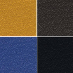 Brown Colored Seat PVC Leather Cloth