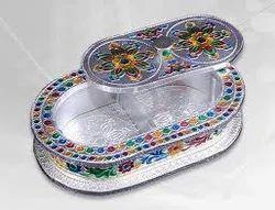 Silver Capsule Dry Fruit Box