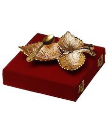 Gold Plated Natural Leaf