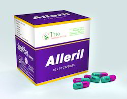 Skin Allergy Herbal Remedy Alleril Capsule