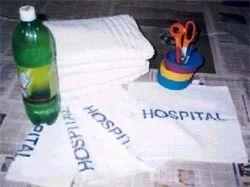 Hospital Property Towel - Name Printed