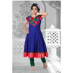 Long Anarkali Girls Suit