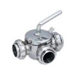 Three Way Plug Valve Union