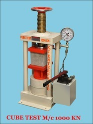 Hand Operated Cube Testing Machine 1000 Kn