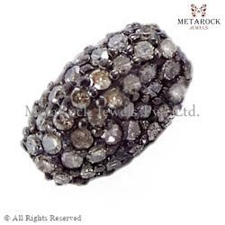 Spacer Pave Diamond Beads Finding