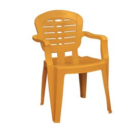High Back Standard Plastic Chair with Arms
