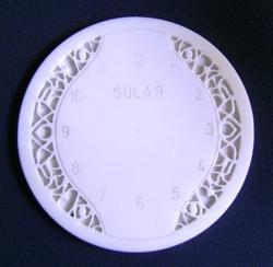 Engraved Clock Design Sample