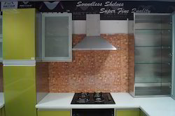 L Shape Steel Kitchen