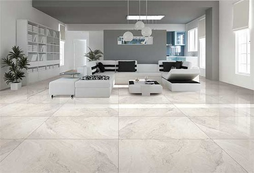 Polished Vitrified Tiles Pr White Eye Purveyor