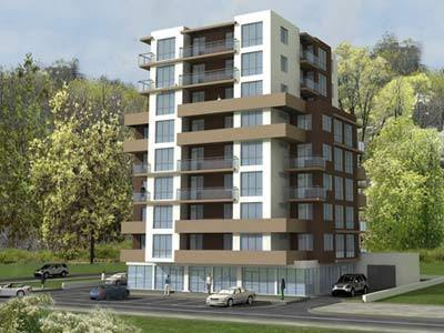 Attractive Residential Building Design