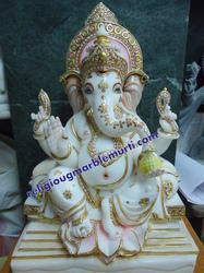 Marble Statue Ganesh Ji