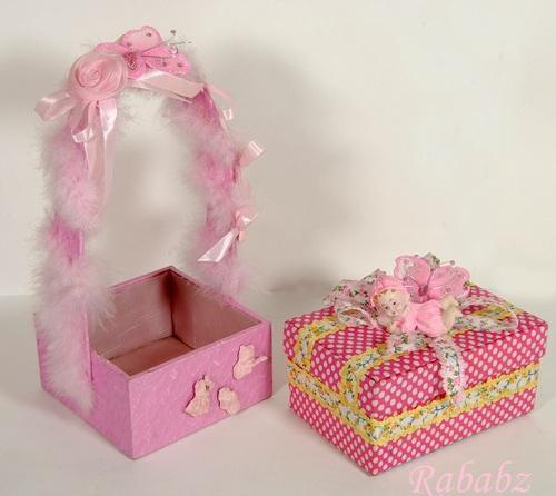 Baby Girl Packing Gifts Crafts Artifacts Rababz Creative