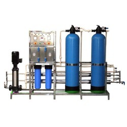 Automatic Industrial RO System, Number of Membranes in RO: 2, Available