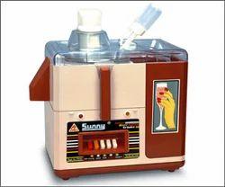 Single Door Stainless Steel 500W Juicer Mixer Grinder, For Industrial, Capacity: 2 Jars