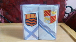 Mens Cotton Handkerchief Sets with Logo