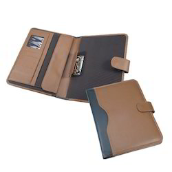 Executive Portfolio Folder Brown