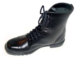 ILF Black Safety Boot, Size: 5 - 12