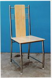 Metal Single Steel Dining Chair