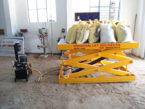Hydraulic Scissor Lift Table, हाइडरॉलिक सीज़र