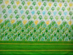State Panel Printed Fabric