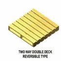 Double Deck Reversible Pallet