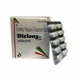 Diclofenac Potassium Paracetamol