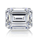 Emerald Cut White Diamond